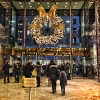Photo taken at Trump Tower by Jeff M. on 12/9/2012
