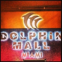 Photo taken at Dolphin Mall by Clau L. on 4/16/2013