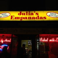 Photo taken at Julia's Empanadas by Regi W. on 11/9/2012
