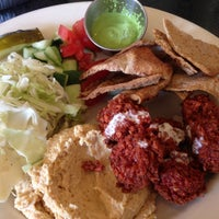 Photo taken at Foxy Falafel by Heather G. on 5/16/2013