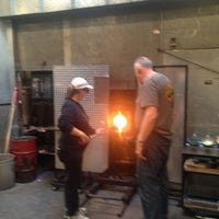 Photo taken at Seattle Glassblowing Studio & Gallery by Christian S. on 8/9/2013