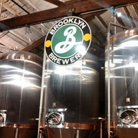 Photo taken at Brooklyn Brewery by Eric S. on 1/19/2013