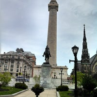 Foto diambil di Mount Vernon Place oleh Eric S. pada 5/11/2013