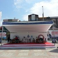 Photo taken at İAÜ Tercih Merkezi by Gökberk C. on 7/8/2013