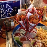 Photo taken at Bubba Gump Shrimp Co. by Hek K R. on 12/25/2012