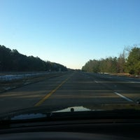 Photo taken at I-295 Exit 28/I-64 by Douglas H. on 1/19/2013