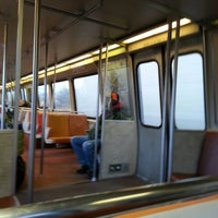 Photo taken at WMATA Yellow Line Metro by Douglas H. on 2/4/2013