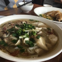 Photo taken at Pho Dakao Hoang Restaurant by the Minnie K. on 5/22/2016