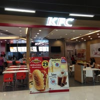 Photo taken at KFC @ BigC Market Huahin by Teacherpaw E. on 8/5/2013