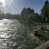 Photo taken at Truckee River by Jin M. on 5/21/2017
