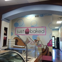 Photo taken at Just Baked by Krista D. on 7/1/2014