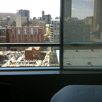 Photo taken at Le Westin Montreal by Christen 章. on 5/1/2013