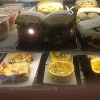Photo taken at Brioche Bakery & Cafe by Jasmine B. on 12/6/2012