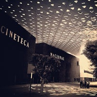 Photo taken at Cineteca Nacional by Manuel B. on 7/12/2013