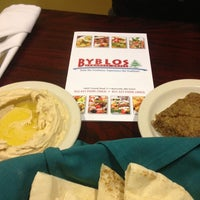 Photo taken at Byblos Lebanese Grill by Zach O. on 12/21/2012