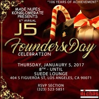 Photo taken at Suede Bar & Lounge by Marquis D. on 12/13/2016