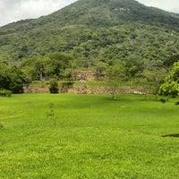 Photo taken at zona arqueológica TEHUACALCO by antonio r. on 6/1/2014