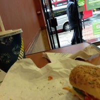 Photo taken at Subway by Marisol on 5/24/2013