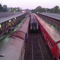 Photo taken at Maradana Railway Station by Dileepa L. on 2/26/2013