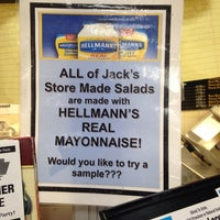 Photo taken at Jack's Super Foodtown by Victoria M. on 7/14/2014