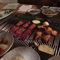 Photo taken at Wharo Korean BBQ by Victoria M. on 2/26/2016