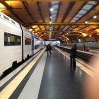 Photo taken at Fiumicino Airport Railway Station (ZRR) by Edoardo M. on 11/11/2012