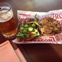 Photo taken at Smashburger by Rachel C. on 1/18/2014