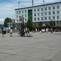 Photo taken at Plac Krakowski by Radosław K. on 6/21/2016