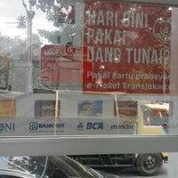 Photo taken at Halte TransJakarta Pondok Pinang by r3z4 p. on 5/16/2013