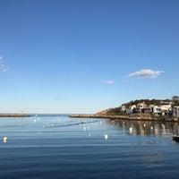 Photo taken at Rockport Harbor by Padona4еk on 10/19/2016