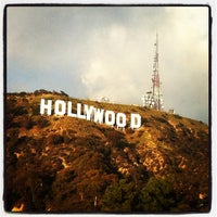 Photo taken at Hollywood Sign Vista Point by Valentina B. on 12/25/2012