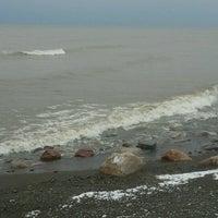 Photo taken at Avonia Beach by MarcyAnne Sloan on 11/25/2012