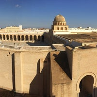 Photo taken at جامع عقبة بن نافع | La Grande Mosquée | Great Mosque of Kairouan by Serhat A. on 12/12/2016