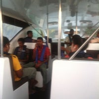 Photo taken at Huvafenfushi Staff Ferry by Ahmed J. on 3/12/2013