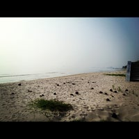 Photo taken at Private Beach by Surasi C. on 10/13/2012