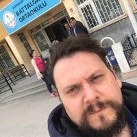 Photo taken at Battalgazi Ortaokulu by Uğurcan U. on 4/16/2017
