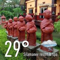 Photo taken at Silamanee Resort & Spa by Narumon 💋mawe on 5/4/2013