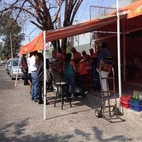 Photo taken at Tacos Barbacoa Prepa 5 by Hylda G. on 9/23/2012