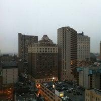 Photo taken at Holiday Inn Express Philadelphia-Midtown by Paula N. on 11/27/2012