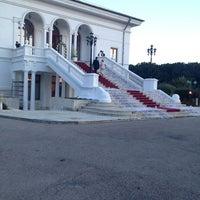 Photo taken at Palatul Snagov by Carla A. on 9/15/2013