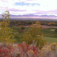 Photo taken at Old Mill Golf Course by Karen B. on 10/16/2012