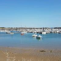 Photo taken at Port de Morin by Romain R. on 8/14/2016