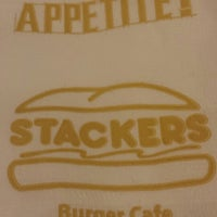 Photo taken at Stackers Burger Cafe by Jhaz D. on 12/2/2013