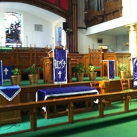 Photo taken at Bethel AME Church by Henry on 3/10/2013