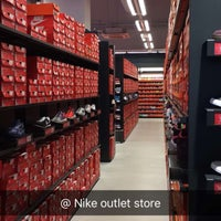 ... Photo taken at Nike Factory Store by Bogdan Z. on 2/26/2016 ...