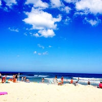 Photo taken at Belmar Beach by Antonia Olivia L. on 7/6/2013