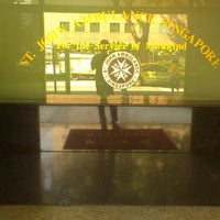 Photo taken at St. John Ambulance Brigade (Singapore) Headquarters by Thanusanth P. on 10/8/2013
