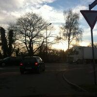 Photo taken at Seemooser Strand by Daniel B. on 12/24/2012