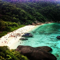 Photo taken at Similan Islands by Happiness Slice on 1/3/2013