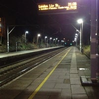 Photo taken at Rectory Road Railway Station (REC) by Hannah S. on 2/6/2013